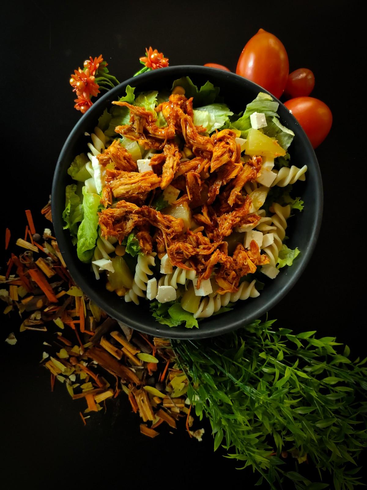 Salade complète aux crispys